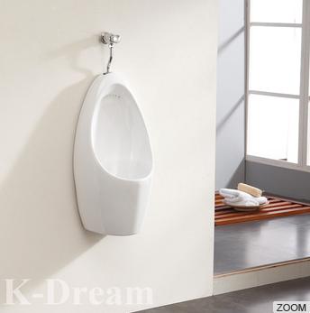 Hot sale WC sanitary wares cheap ceramic wall hung urinal
