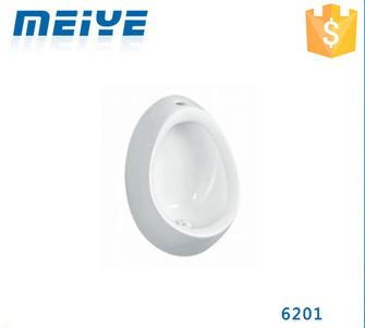 6201 Wall-mounted Ceramic White Quality Urinal, Egg Shaped Urinal
