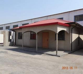 Friendly Galvainized Steel Structure Prefab Houses