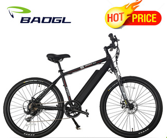 26 inches unfoldable electric downhill mountain bike with full suspension