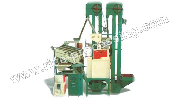 15T/D Double Iron Roller Rice Milling Equipment