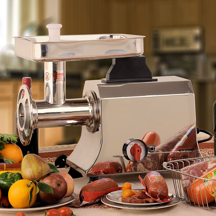 Deluxe 12# S/S Compact Meat Grinder Electric