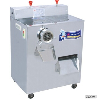 vertical single twister mincer