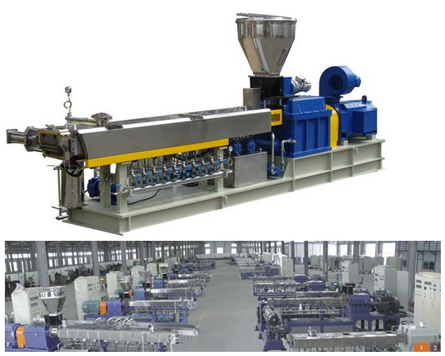 Twin Screw Extruder for Plastic Pelletizing