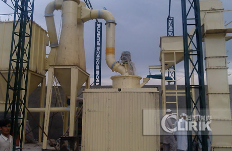 Phosphate ore grinding equipment