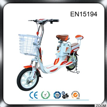 Rohs FCC DOT CE-approved classical model china cheap assist electric scooter bicycle pedals