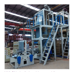 NYLON plastic bag blow moulding machine