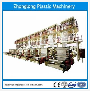 Film blowing machine, PE film blowing machine, PE film extruder, film machine