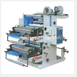 二色柔性凸版印刷机