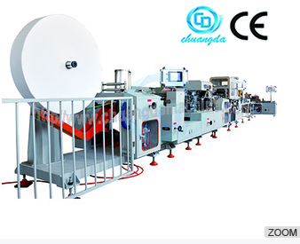 Full Automatic Handkerchief Tissue Machinery Line