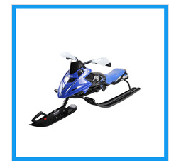 Winter Fun Bike Snowmobile Scooter Bike