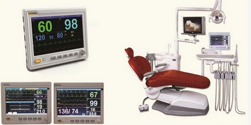 MAKII Multi-Parameter Dental Monitor 10In