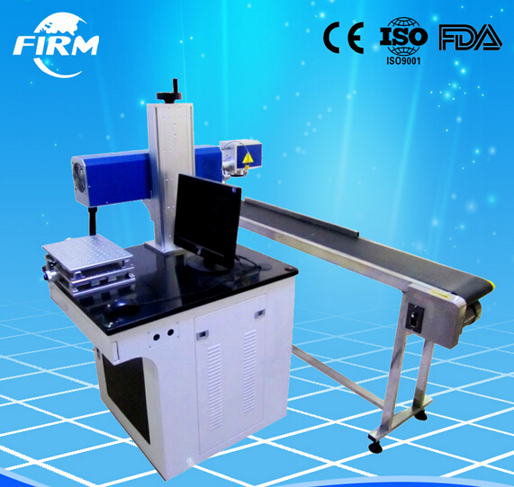 10W 20W 30W Co2 Laser Marking machine with CE foror leather/ Plastic/Paper