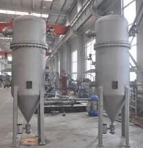 Газовый фильтр с обратной промывкой