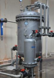 Микропористый фильтр с автоматической обратной промывкой