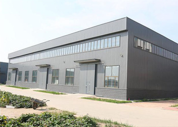 Prefabricated Construction Light Steel Structure Warehouse Building