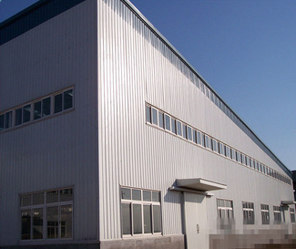 prefab workshop prefab steel building mada in China