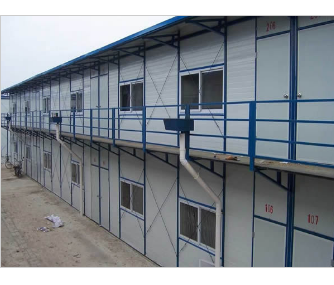 Low Cost High Quality Steel Material Prefab / Prefabricated / Mobile House