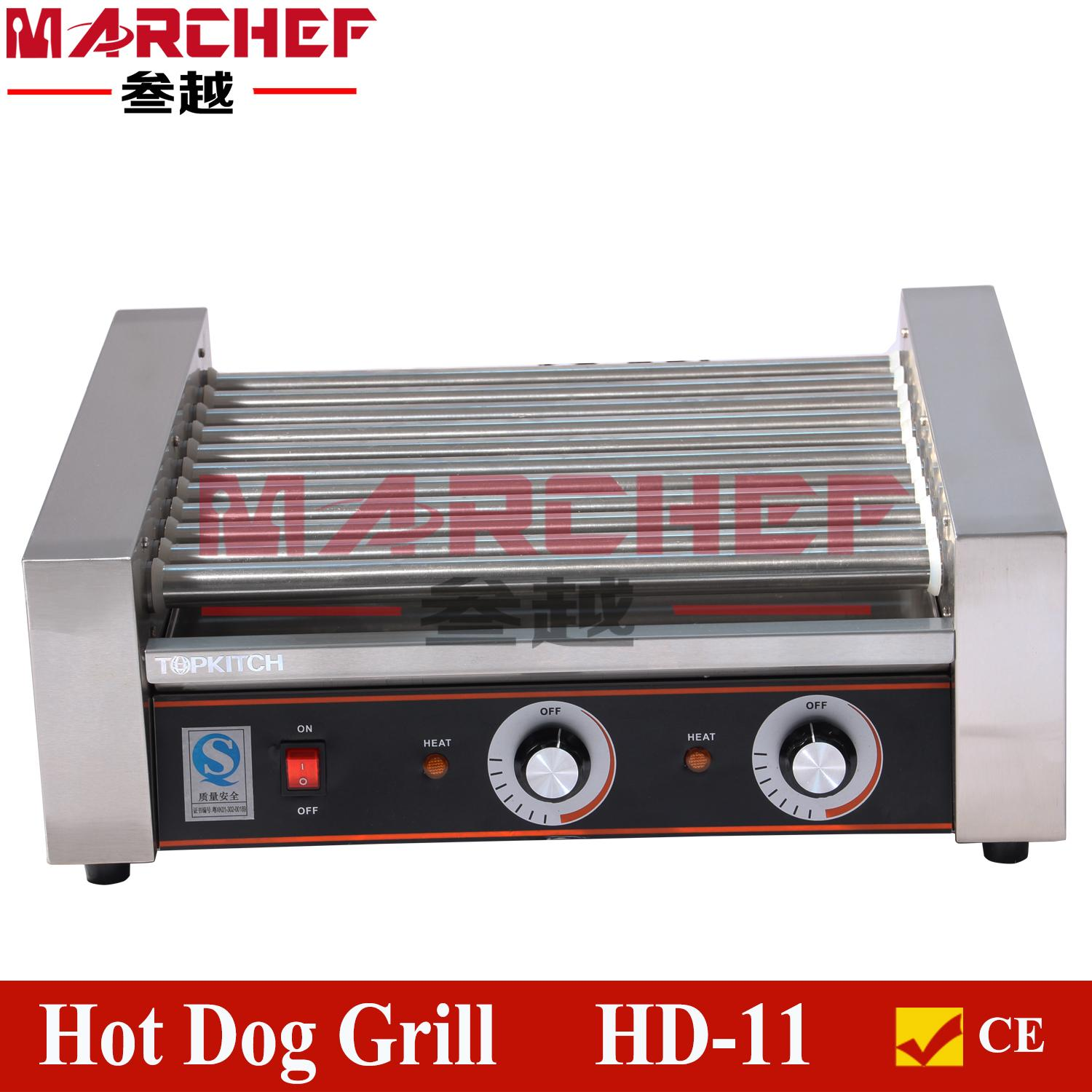 11Rollers hot dog grill