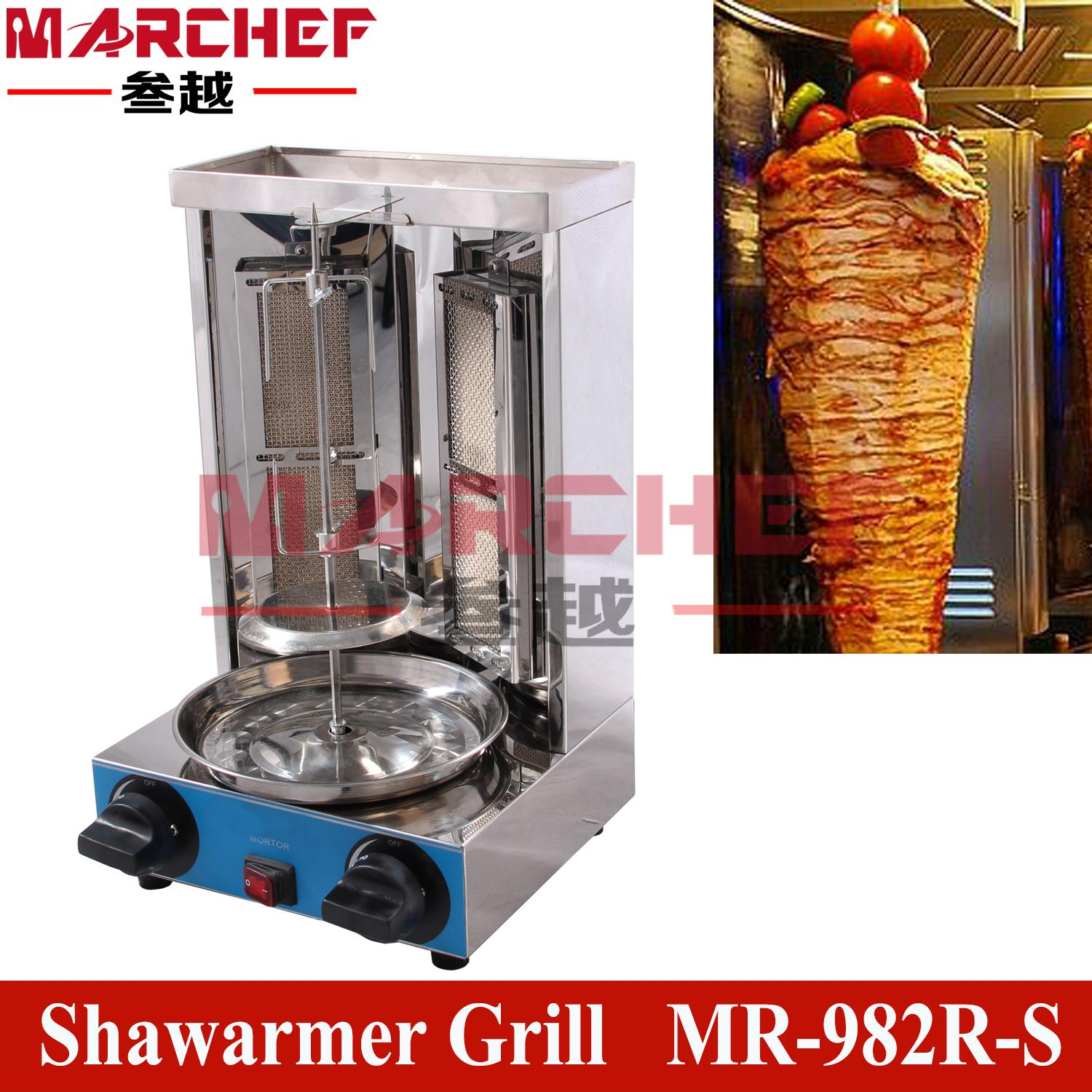 Gas Mini Doner Kebab Machine