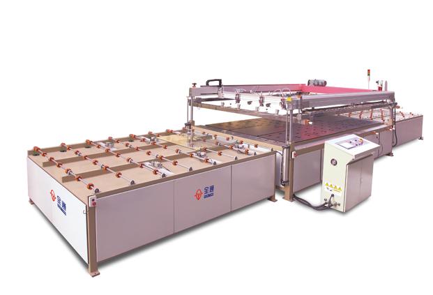 Полноавтоматическая бытовая печатная машина сетчатого трафарета для стекла TY-GL2436A