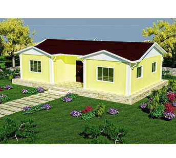 Export to Bangladesh china self assemble prefab houses