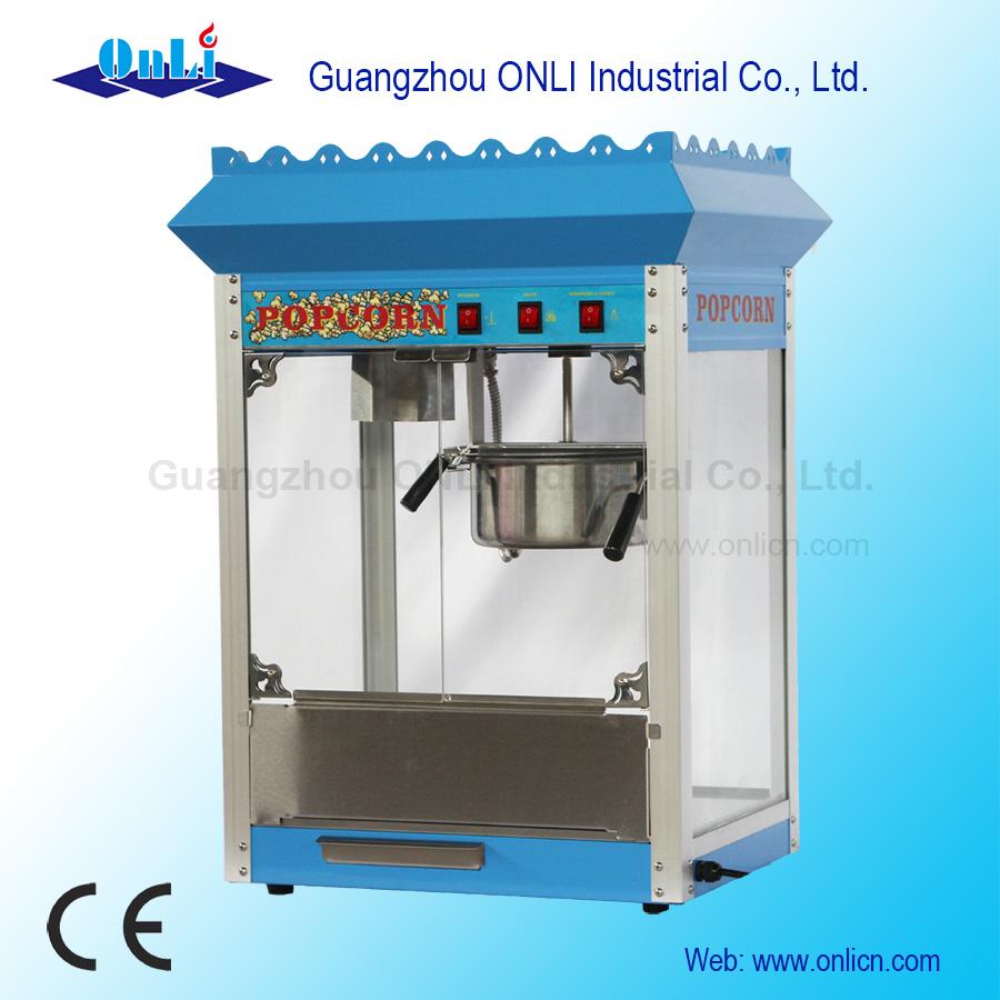 Popcorn machine ON-PP8 blue