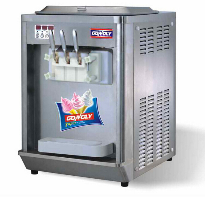 Promotion Price liquid nitrogen Frozen Yogurt Machine / Turkish ice cream machine with CE approved