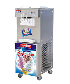 Trade assurance Hot Sale Stainless Steel Ice Cream Machine With Prices Commercial Restaurant Used Soft