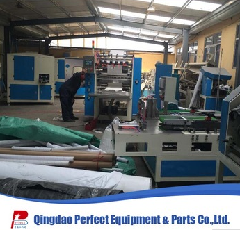 Factory price V folding interfold facial tissue making machine