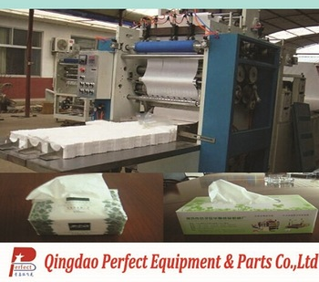 Soft facial tissue making machine