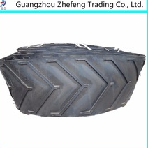 Rubber conveyor belt to transport sand stone