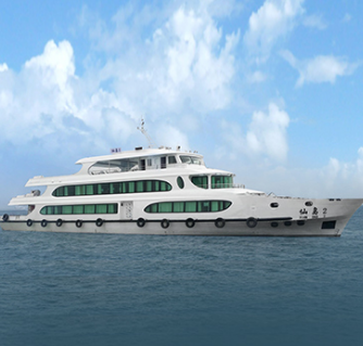 49.8m 300pax tourist passenger boat for sale passenger vessel