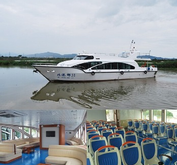22.3m Fiberglass Passenger Ferry Boat for Sale