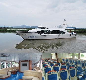 22.3m Fiberglass Passenger Ferry Boat for Sale
