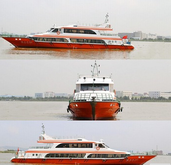 31m New Fiberglass Passenger Ship for use