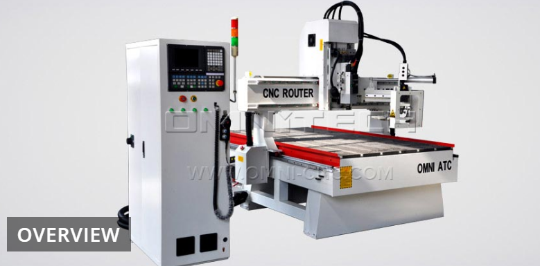 Carrousel Type ATC CNC Router