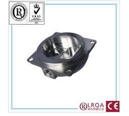 OEM carbon steel lost wax investment casting customize railway accessories stainless steel train parts