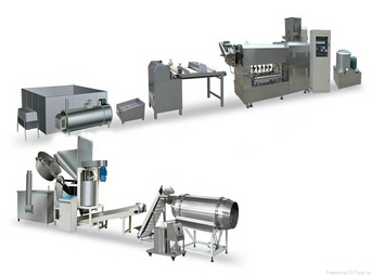 Fried snacks food production line