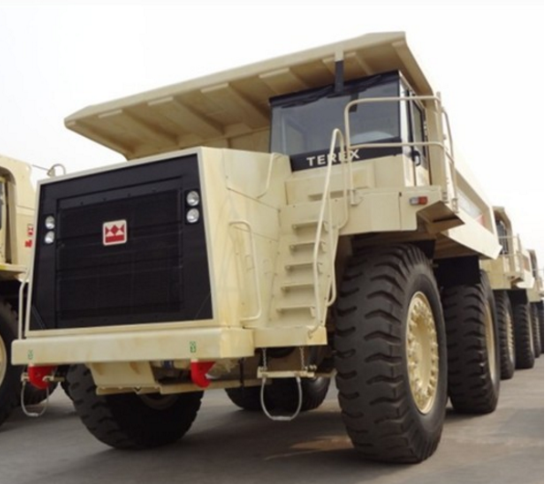 TEREX TR50 Mining dump truck for sale with Allison transmission