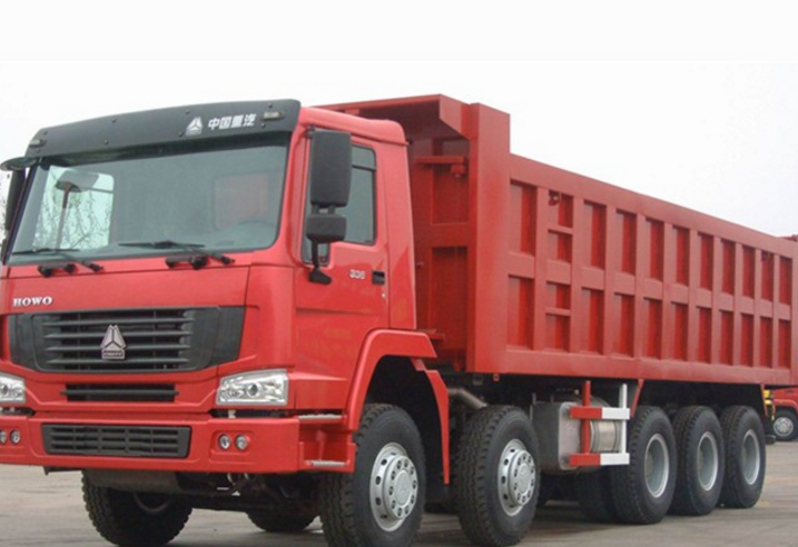 16 tires heavy duty dump truck with 80Ton loading capacity for hot sale in the world