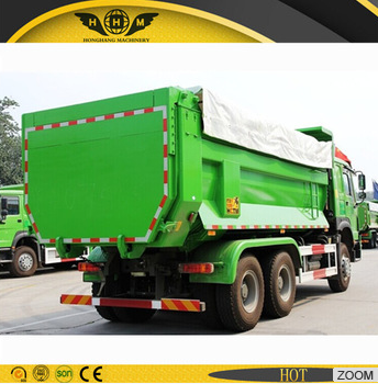 Dump truck for loading muck for sale with covered tarpaulin