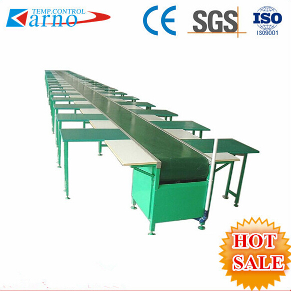 Trade assurance pvc conveyor belt/plastic conveyor belt line