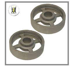 customized cast iron train wheels