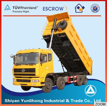 35T 8x4 Heavy Duty Dump Truck Curb Weights