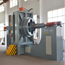 DN1200 big size hydroforming stainless steel bellow forming machine