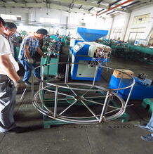 DN8-DN40 corrugated flexible metal gas hose making machine
