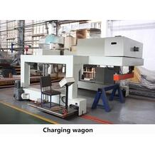 additional equipment charging or feeding wagon for mould making