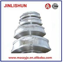 Blanking die, precision roll forging for train coupler yokes,Roll forging machine for mold