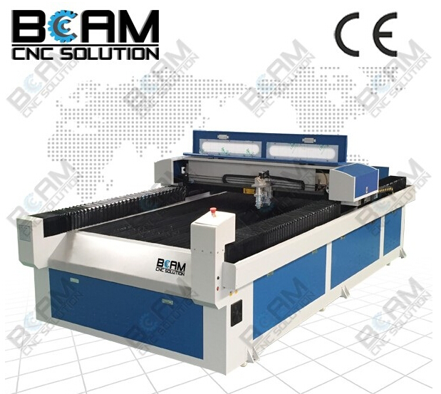 Bcam Co2 laser cutting machine BCJ2513-260W for metal and nonmetal/Best quality and service